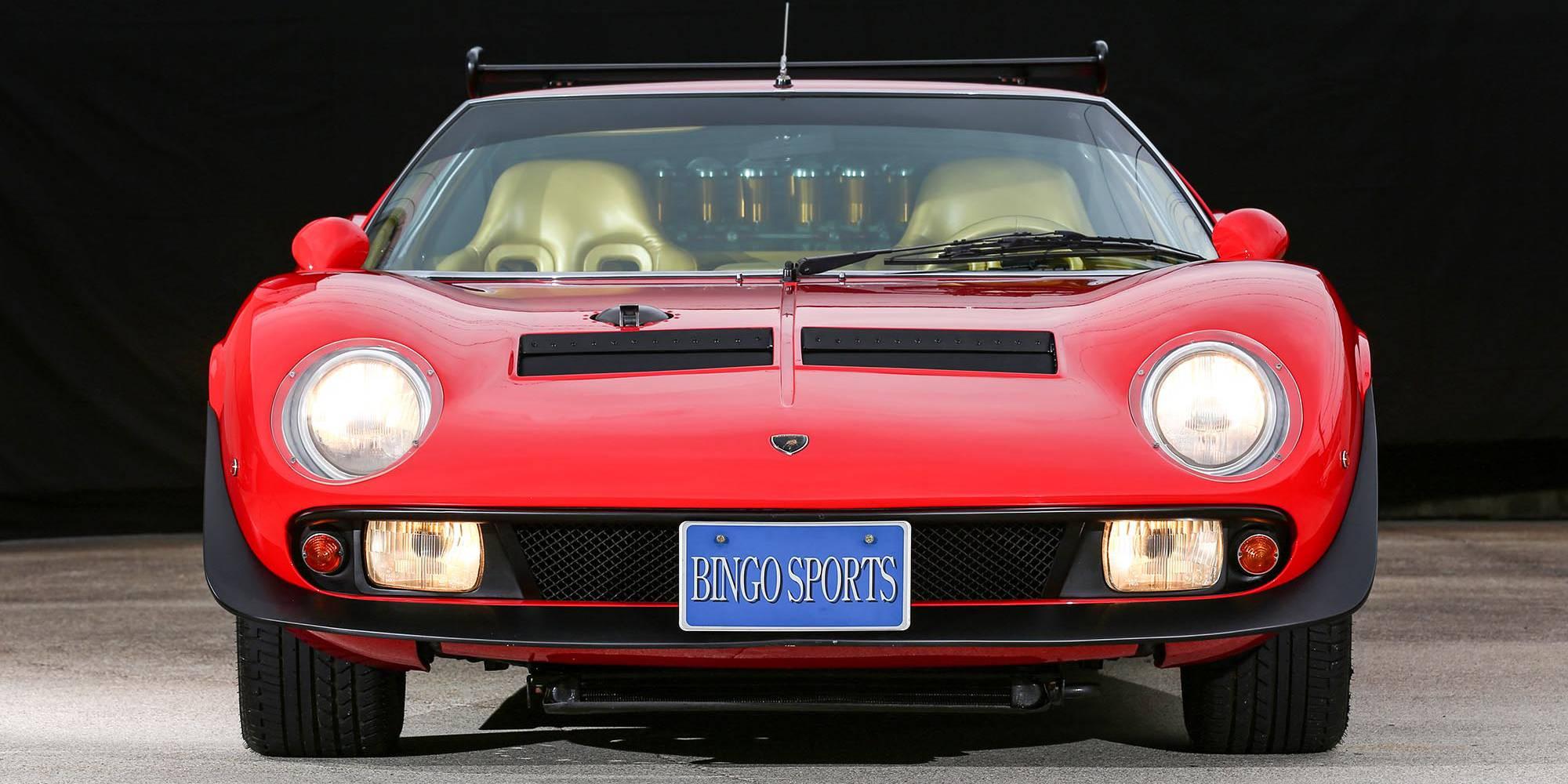 1968年式 ランボルギーニ イオタ Svr ビンゴスポーツ 希少車、 絶版車、高級車の販売・買取。